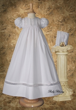 Baby Blessing Gown with Ruching