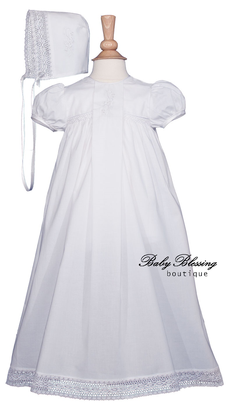 Baby White Dress - BBBoutique