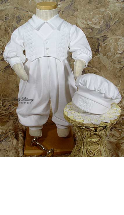 LDS Baby Boy Blessing Outfit