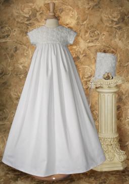 Ivana Rosette Baby Blessing Gown