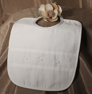 Three Button Bib