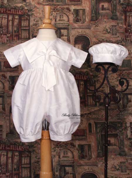 White Baby Sailor Outfit