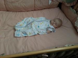 Sleeping with Blanket Sleeper